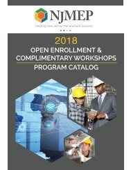 2018 Workshop Program Catalog revised 4_19