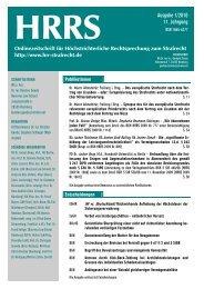 Ausgabe 1/2010 11. Jahrgang - Katalog der Deutschen ...