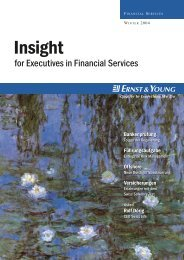 Insight for Executives in Financial Services – Winter 2004