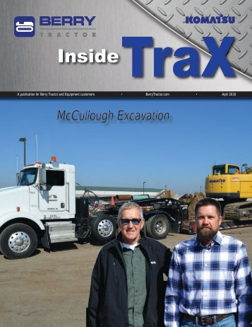 Berry Tractor Inside Trax - Spring 2018