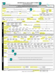 K555 RESIDENTIAL DATA INPUT FORM 5 - By Owner Oregon