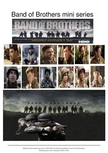 Band of Brothers mini series - strangecharms