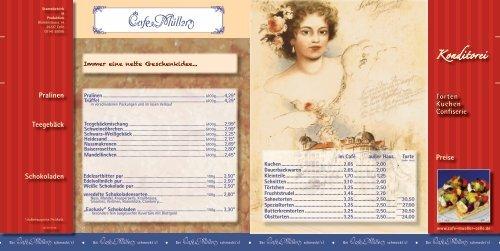 Konditorei Torten Kuchen Confiserie Teegebäck Preise Pralinen ...