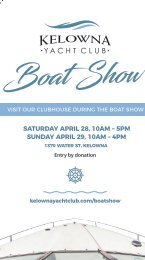 2018 Kelowna Boat Show