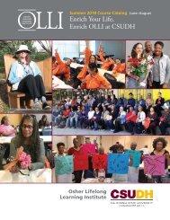 Summer 2018 OLLI Catalog (Interactive)