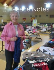 Peace Notes May 2018-Word of Peace Lutheran Church