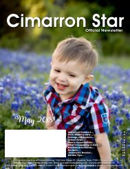 Cimarron May 2018