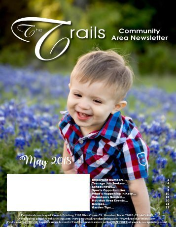 Oak Park Trails May 2018