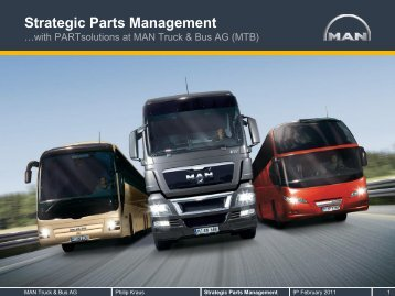 Strategic Parts Management - Cadenas