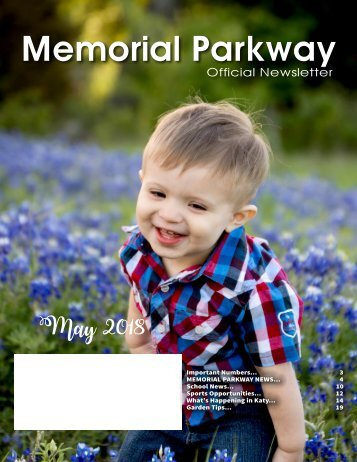 Memorial Parkway May 2018