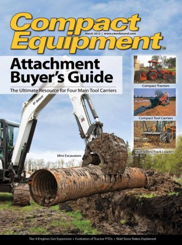 Attachments - Compact Equipment