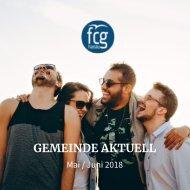 Gemeinde Aktuell - Mai/Juni 2018