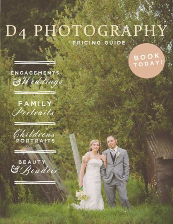 D4 Photography Pricing Guide