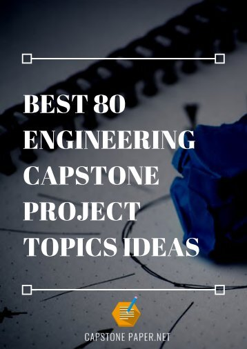 engineering-capstone-project-topics-ideas