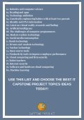IT Capstone Project Topics Ideas - Page 4