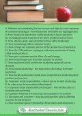 Marketing Dissertation Topics - Page 2