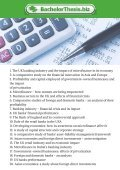 Thesis Topics in Finance - Page 2
