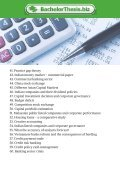 Thesis Topics in Finance - Page 4