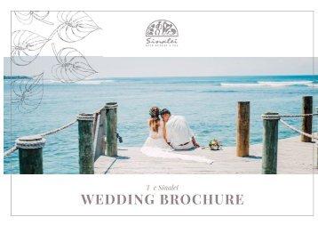 Wedding Brochure 2018