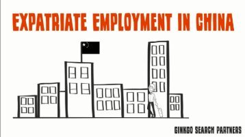 Expatriate Employment in China