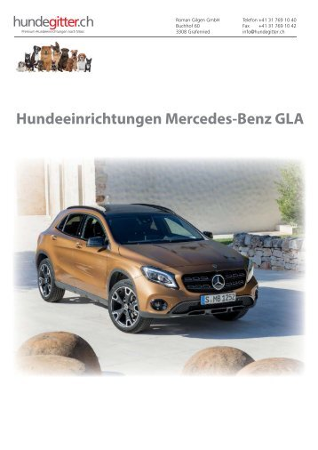 Mercedes_GLA_Hundeeinrichtungen