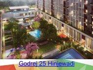 Godrej 25 Hinjewadi Apartments