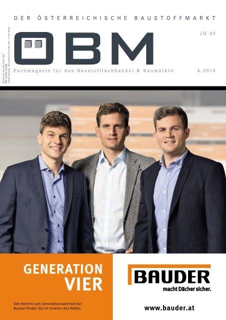 2018-4 OEBM Der Österreichische Baustoffmarkt - BAUDER - macht Dächer sicher