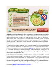 Vitax Lean - Increase YOur Metabolism Rate To Burn Fat Fast