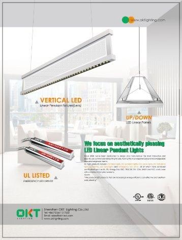 OKT Lighting, the manufacturer of commercial led lighting
