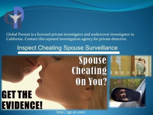 Inspection of Spouse Cheating Surveillance