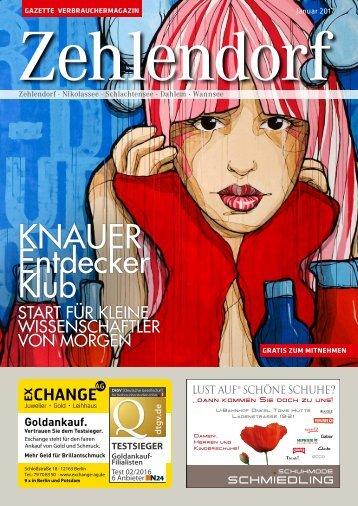 Gazette Zehlendorf Januar 2017