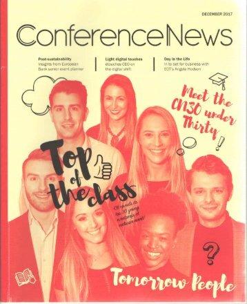 Conference News December 2017