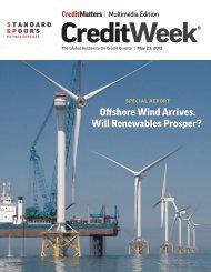 Offshore Wind Arrives. Will Renewables Prosper? - Standard & Poor's