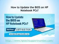 How to Update the BIOS on HP Notebook PCs?