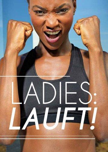 Ladies lauft! Coole Running- und Fitnesstextilien für Dich und das Team!  Zu günstigen Preisen, mit und ohne Druck. Toepper Werbung.de