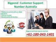 180-043-1401 Bigpond Customer Service Australia Toll-free Number