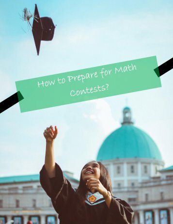 How to Prepare for Math Contests