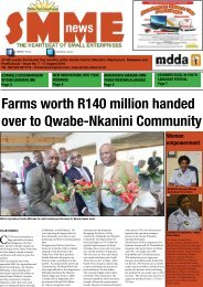 SMME NEWS - AUG 2016 ISSUE