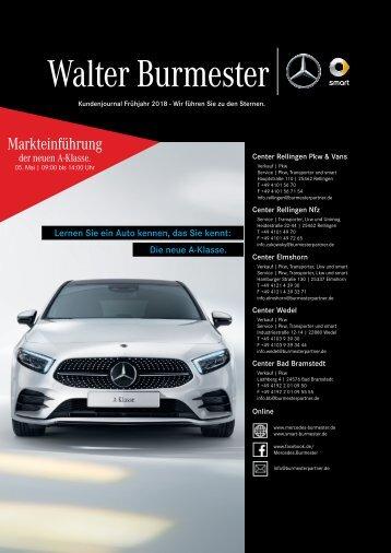Burmester Kundenjournal | Frühjahr 2018