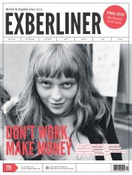 Exberliner Issue 171 May 2018