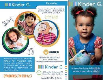 Informativo Kinder G® Resumido 2018/2019