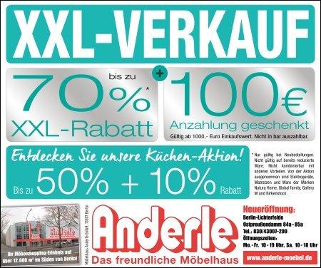 XXL-Verkauf