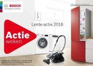 Bosch, lente-acties! (2018)