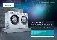 Siemens, lente-acties! (2018)