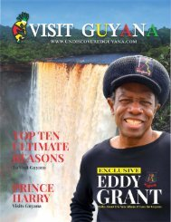 Visit Guyana 2018