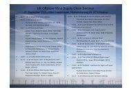 UK Offshore Wind Supply Chain Seminar