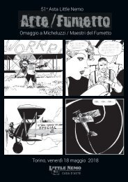 51a Asta Little Nemo - Omaggio a Micheluzzi / Maestri del Fumetto