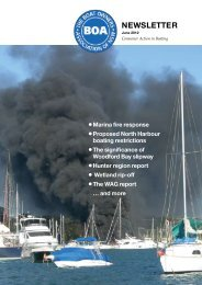 Newsletter - The Boat Owners' Association of NSW
