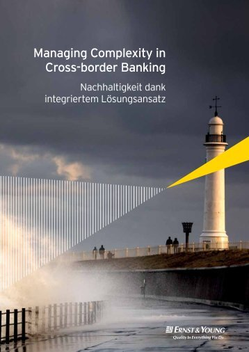 Managing Complexity in Cross-border Banking - Home - Ernst ...