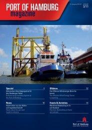 Port of Hamburg Magazin 03